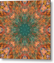 Load image into Gallery viewer, Mandala 025b - Metal Print