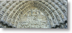 Notre Dame Cathedral - Metal Print