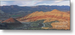 Painted Hills - Metal Print