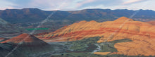 Load image into Gallery viewer, Painted Hills - Metal Print