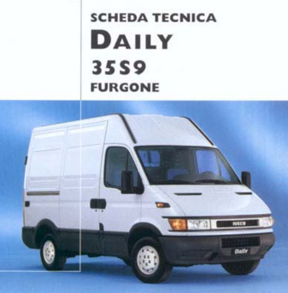 Iveco Daily Scheda Tecnica - Daily 35s9