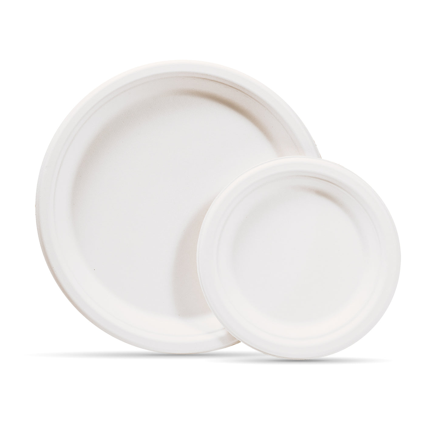 dessen Disposable White Round Hard Plastic Plate for Petrol/&Woodcutting Chain Saw Garden