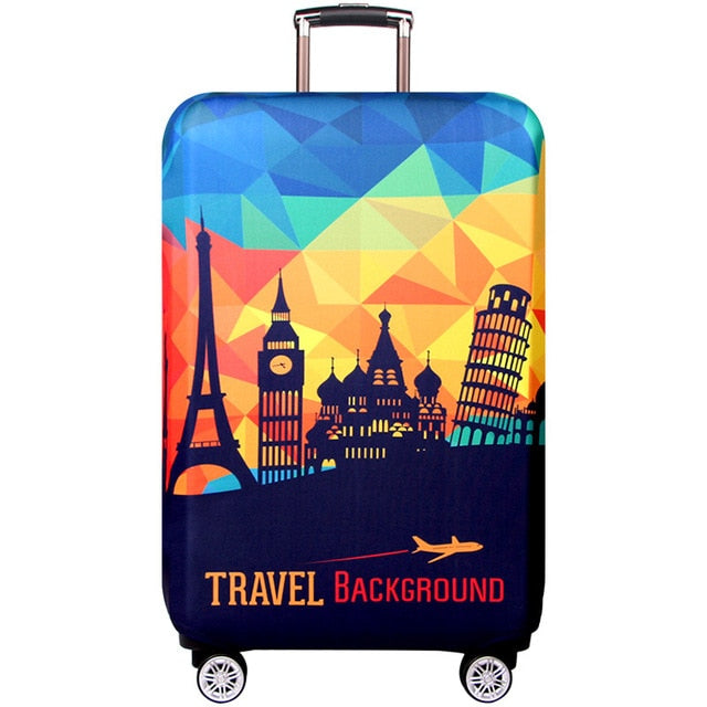 "Colorful Luggage Protective Cover ""18-32"""