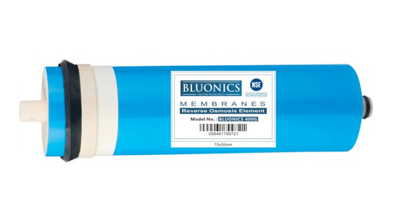 Bluonics Reverse Osmosis Membrane 400 GPD - RO Replacement Water Filter ( NSF Certified )