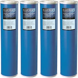"Bluonics 4 Big Blue (GAC) Granular Activated Carbon Water Filters 4.5"" x 20"" Cartridges"