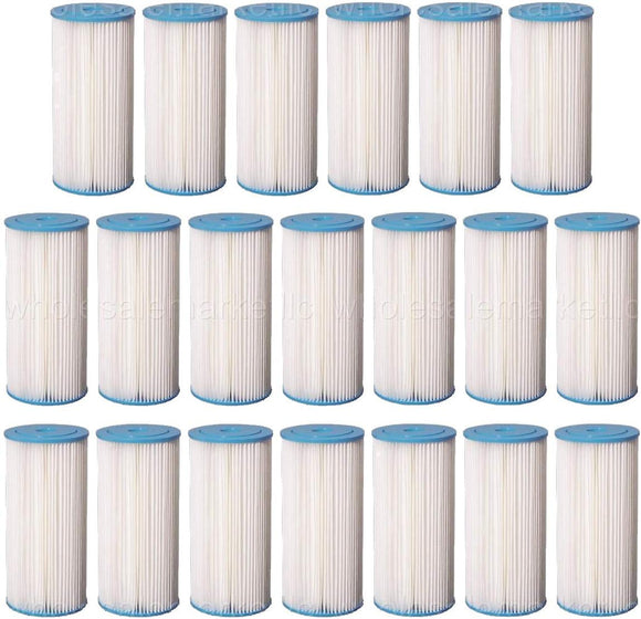 Pleated Sediment Water Filters 20 Big Blue Washable 4.5 x 10 Cartridge, 5 Micron