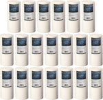 """20-pack Bluonics 4.5"""" x 10"""" Big Blue Sediment Replacement Water Filters 1-Micron Whole House  for Rust, Iron, Sand, Dirt and Undissolved Particles"""