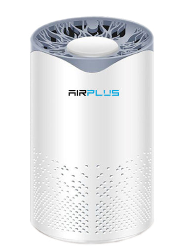 Bluonics Air Plus Mini 4-in-1 Air Purifier True HEPA Filter with UV-C Light Sanitizer,  Eliminates Germs, Filters Pollen, Smoke, Dust, Odors Mold and Pet Dander, for Small Room, Office and Car