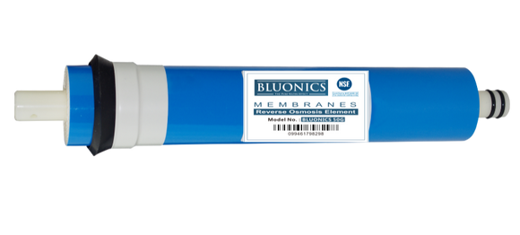Bluonics Reverse Osmosis Membrane 50 GPD - RO Replacement Water Filter ( NSF Certified )