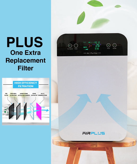 Air purifier HEPA filter UVC IONÊ