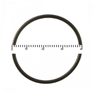"Bluonics Skinny 2.5"" Blue Replacement O–Ring Black- 4"" Diameter"