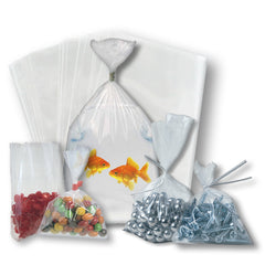 Flat Clear Poly Bags