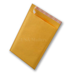 "#0 6.5""x10"" Kraft Bubble Envelope Shipping Mailer"