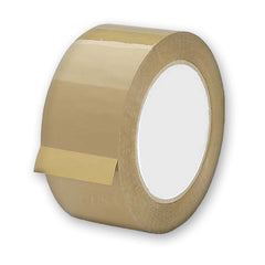 "2 Mil Tan Packing Shipping Tape 2""x330' (110 yds) Double Roll"