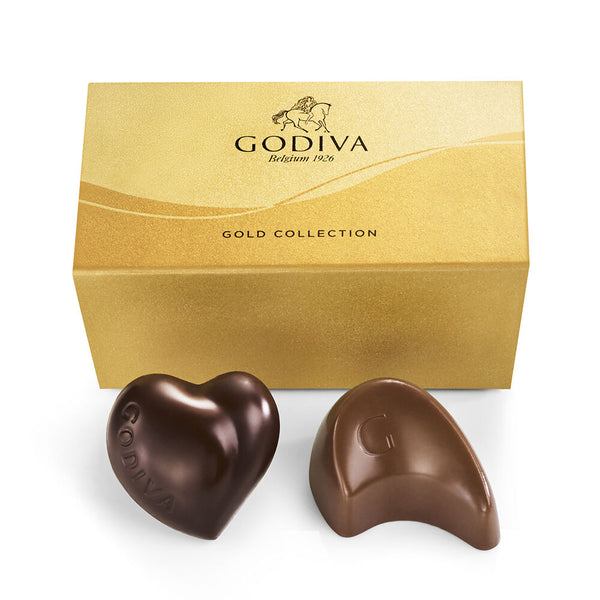 Assorted Chocolate Gold Favor, 2 pc.