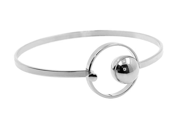 Bangle Front Opening with Ball and Circle
