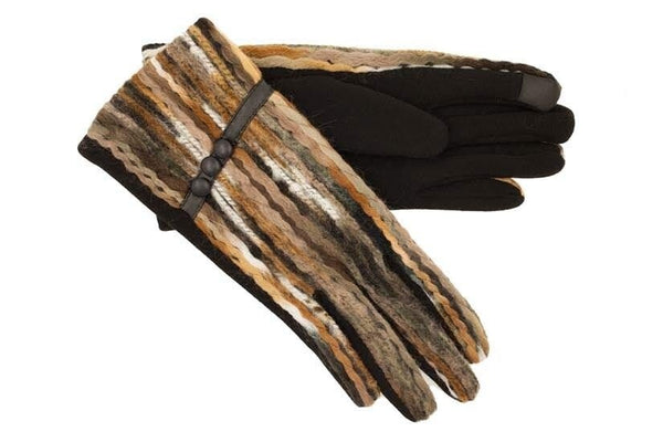 Tan Mix Gloves