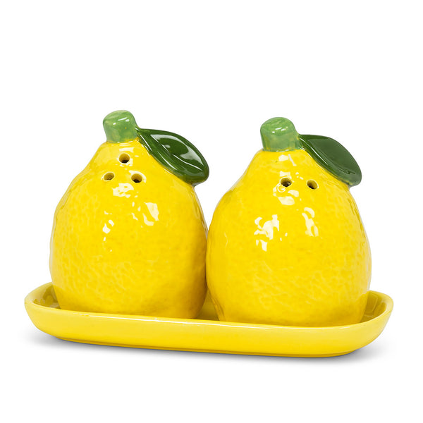 Lemon Salt & Pepper on Tray