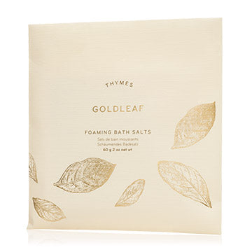 Goldleaf Foaming Bath Envelope