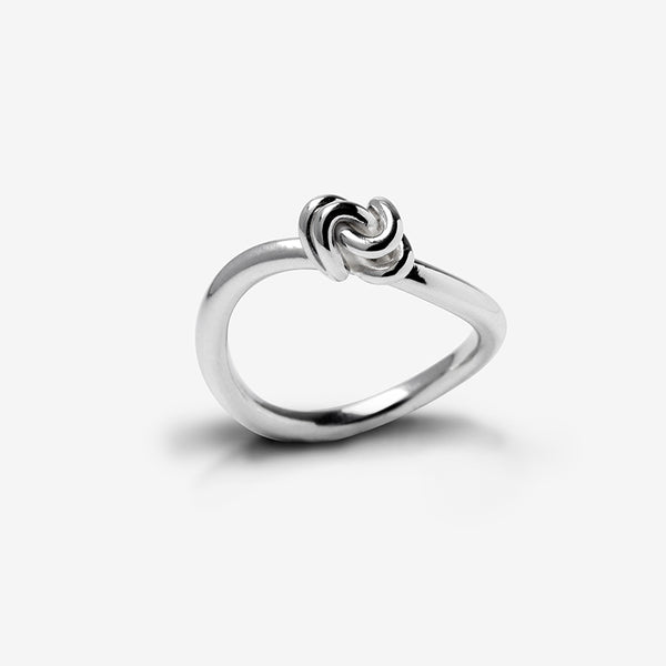 Hugs Ring - Sterling Silver