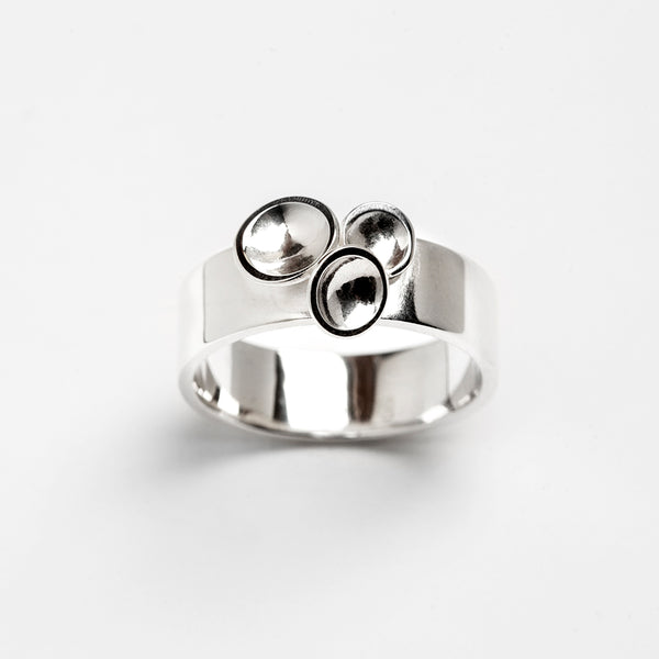 Champagne Ring - Sterling Silver