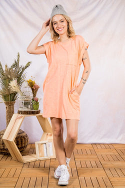 Cotton T Mini Dress