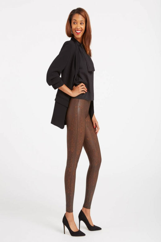 Spanx Faux Leather Legging, Snakeskin