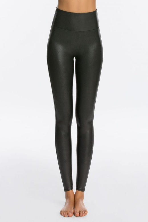 Spanx Faux Leather Legging, Black