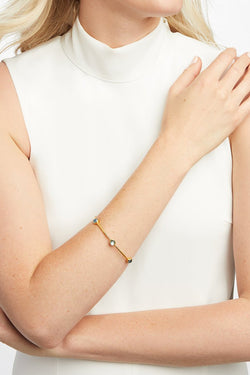 Julie Vos, Milano Luxe Gold Bangle