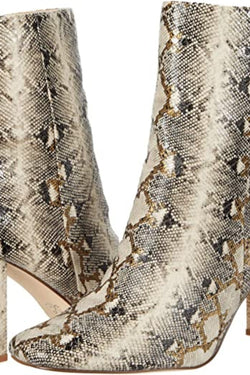 Quirky Snake Skin Bootie