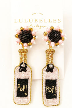 Wine Pop! Boozy Earrings