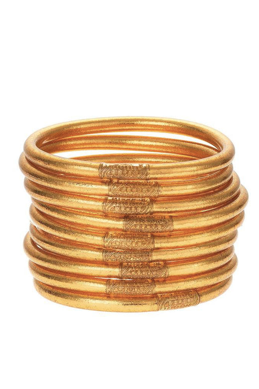 Budha Girl Bangles Set/3 Gold