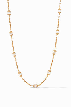 Julie Vos, Calypso Pearl Delicate Necklace