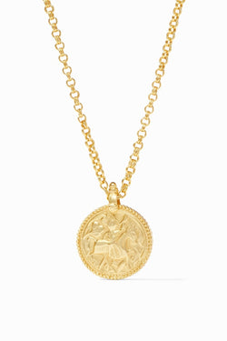Julie Vos, Gold Coin Pendant