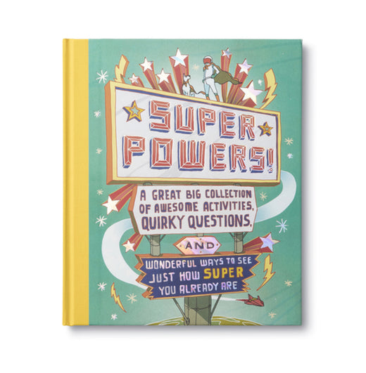 Super Powers Kids Activity Book