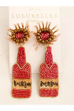 Bourbon Boozy Earrings