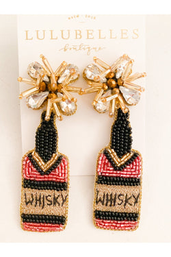 Whisky Boozy Earrings