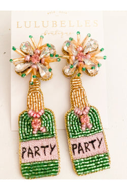 Champagne Party Boozy Earrings