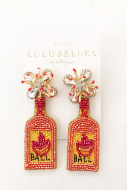 Fireball Boozy Earrings