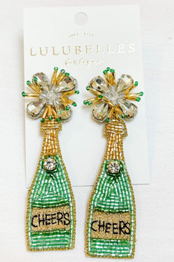 Champagne Cheers Boozy Earrings