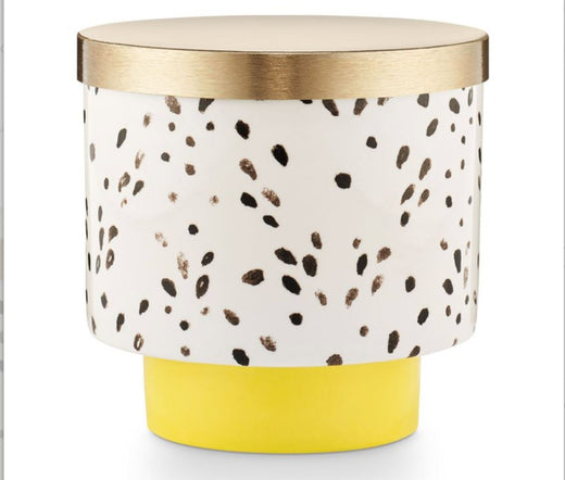 Illume Ceramic Gold Lid Candle