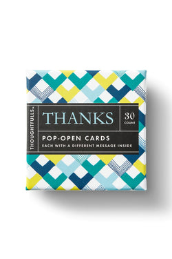 Thoughtfulls - Thanks Pop-Open Cards