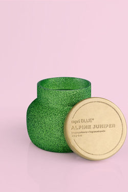 8oz. Alpine Juniper Green Glitter Jar