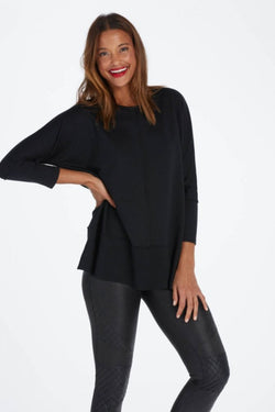 Spanx, Perfect Length Top, Dolman 3/4 Sleeve