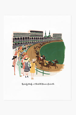 Kentucky Derby Print 11x14