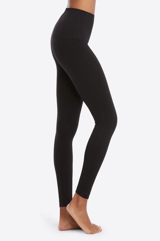 Spanx Look At Me Now Leggings, Very Black