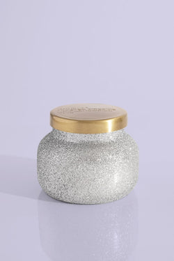 8oz. Silver Glitter Frosted Fireside