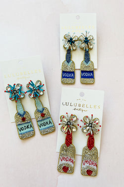 Vodka Boozy Earrings