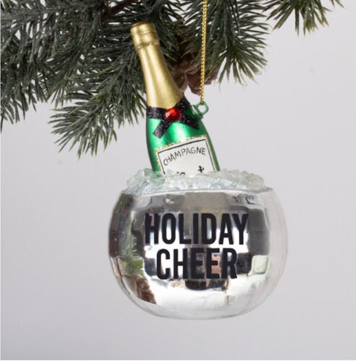 Disco Champagne Ornament