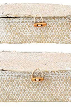 Woven Seagrass Box Small
